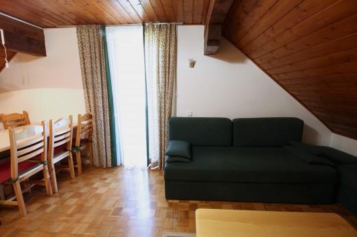 Bohinjska Bistrica - dnevni prostor