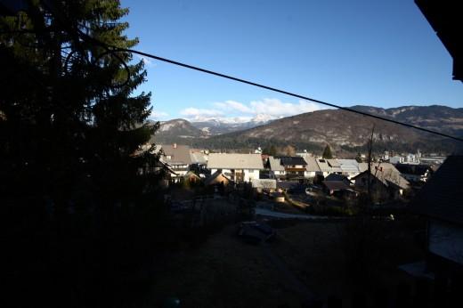 Bohinjska Bistrica - pogled iz apartmaja